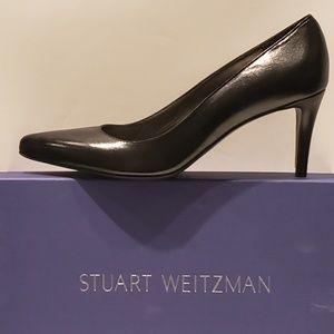 NWT! Stuart Weitzman Tessa Leather Point Toe Pump